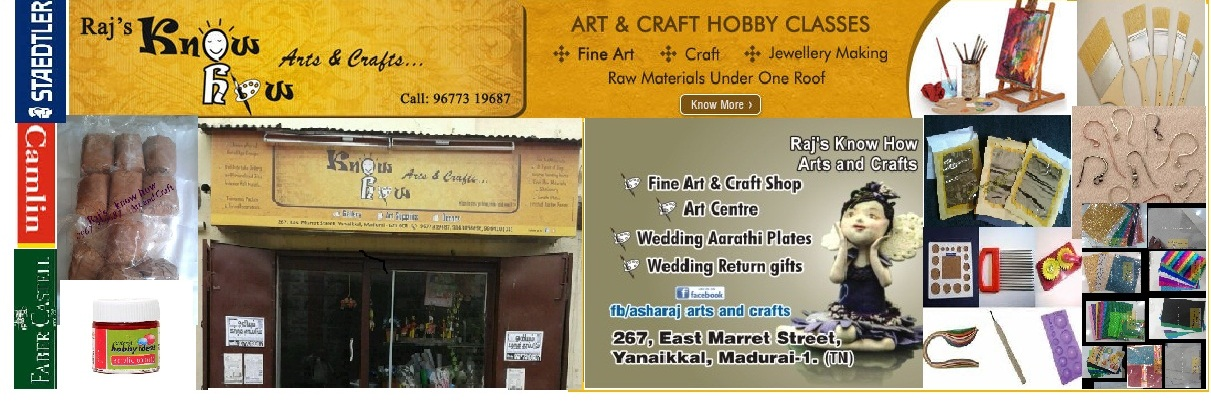 Art and Craft Shop in Madurai