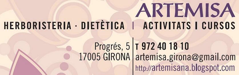 """<p align=""""center"""">ARTEMISA</p> Herboristeria · Dietètica"""