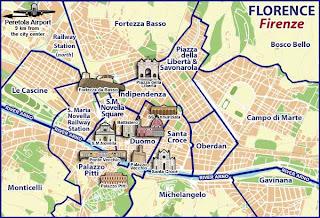 Флоренция карта