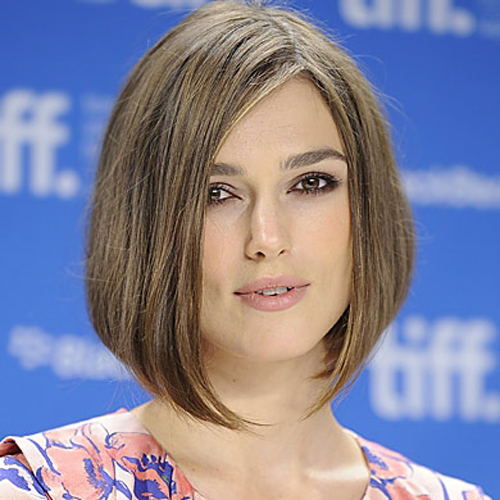 Keira Knightley hair - The Midi Bob