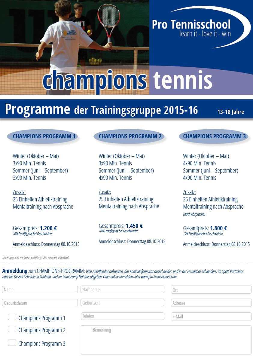 Champions- Programm