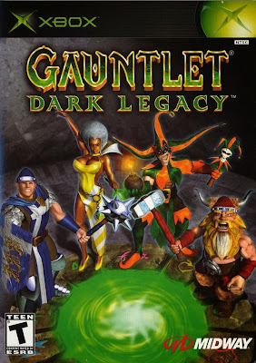 Gauntlet Dark Legacy Xbox Cover Art