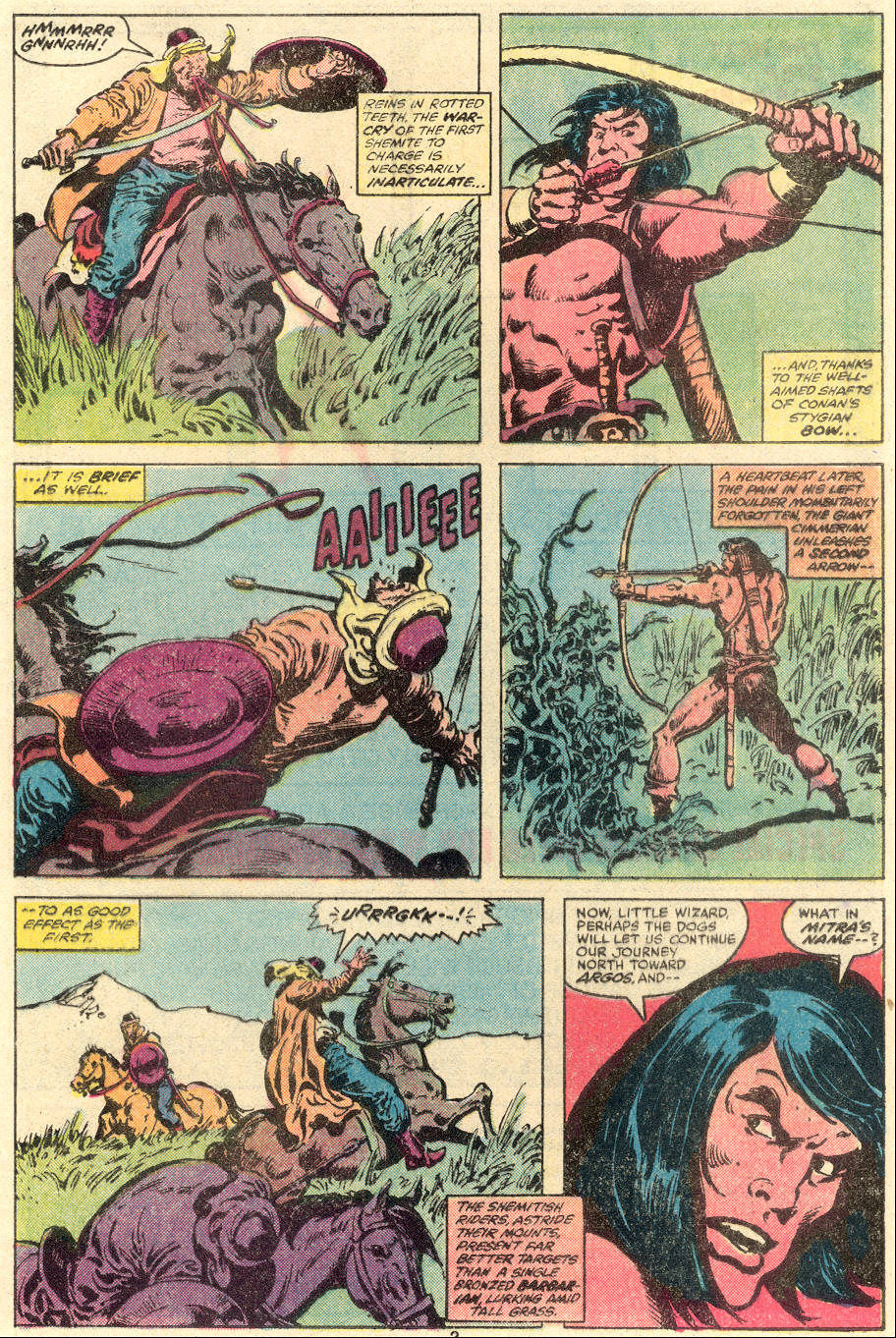 Conan the Barbarian (1970) Issue #109 #121 - English 4