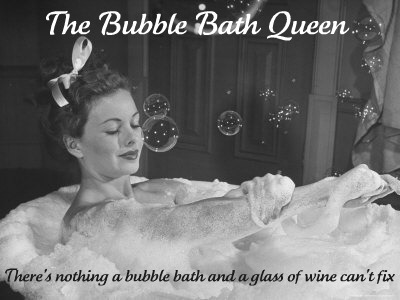 The Bubble Bath Queen