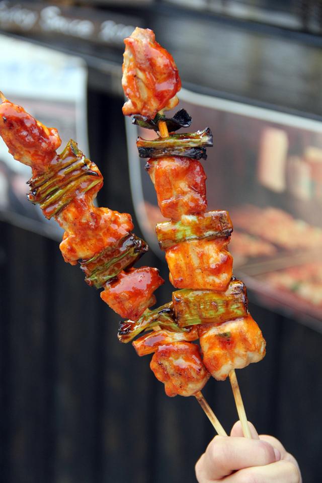 ... Restaurant - IN MELAKA: Korean skewered chicken 닭꼬치 (Dakkochi