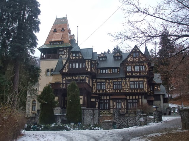 castelul pelisor trans-ferro
