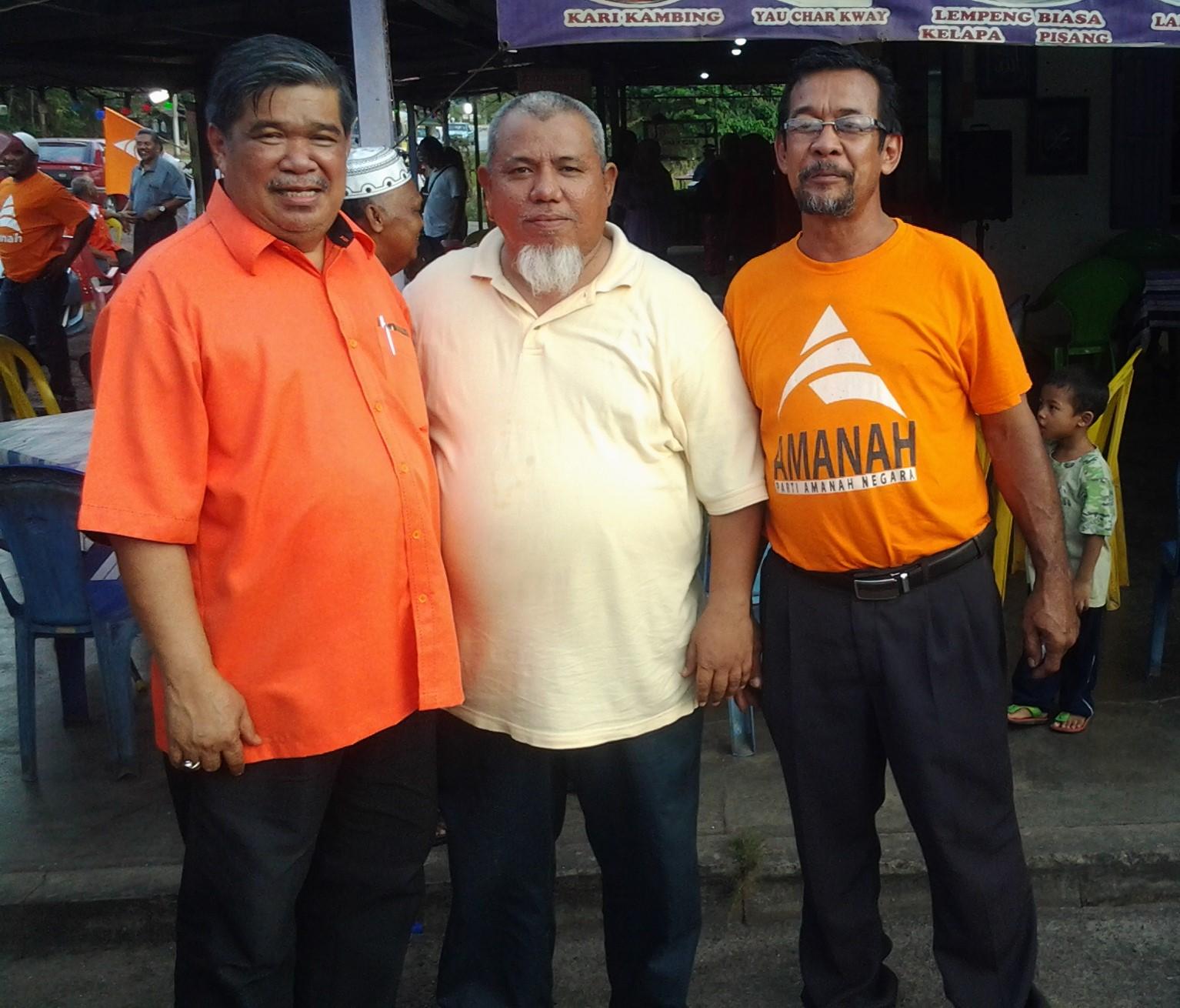 Bersama Hj Mohamad Sabu Presiden AMANAH