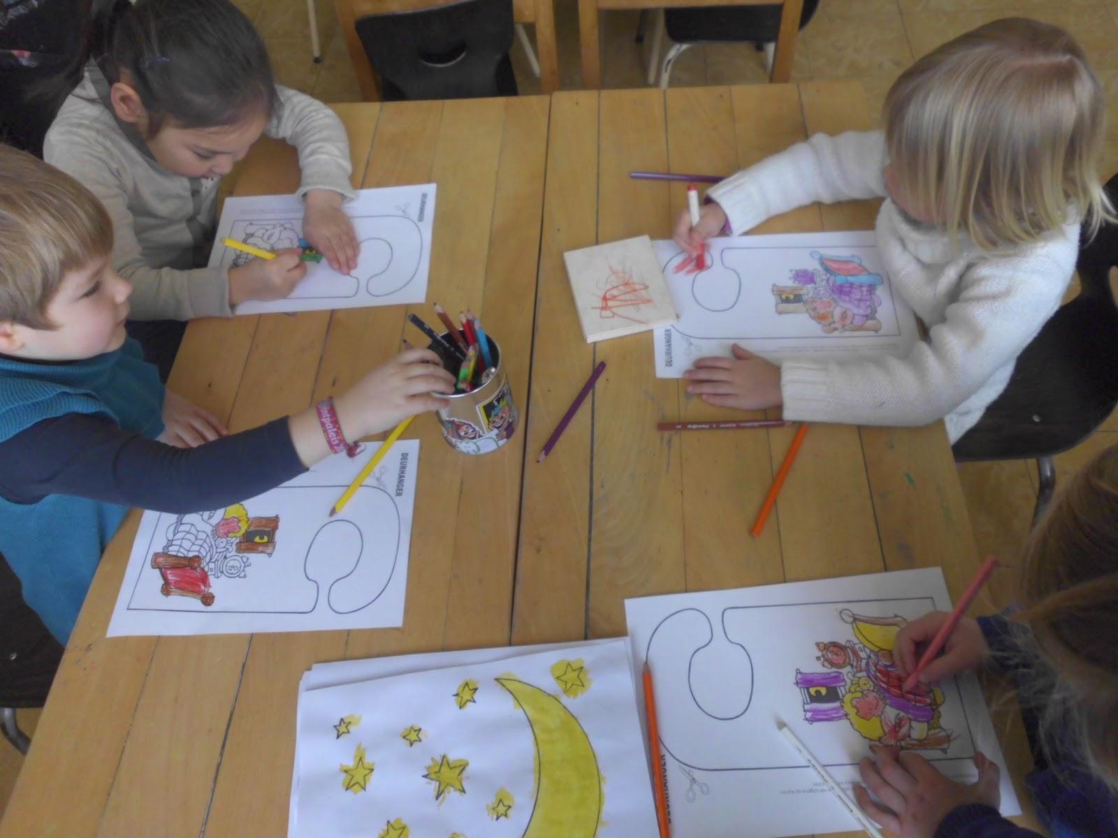 kleuren basisschool week