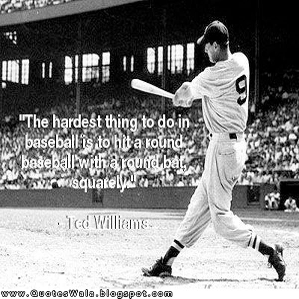 Daily Quotes at QuotesWala: Baseball Quotes