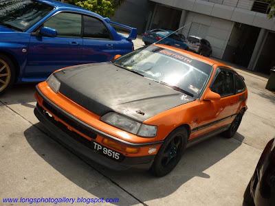 The Classic FF Race Car: Honda CRX