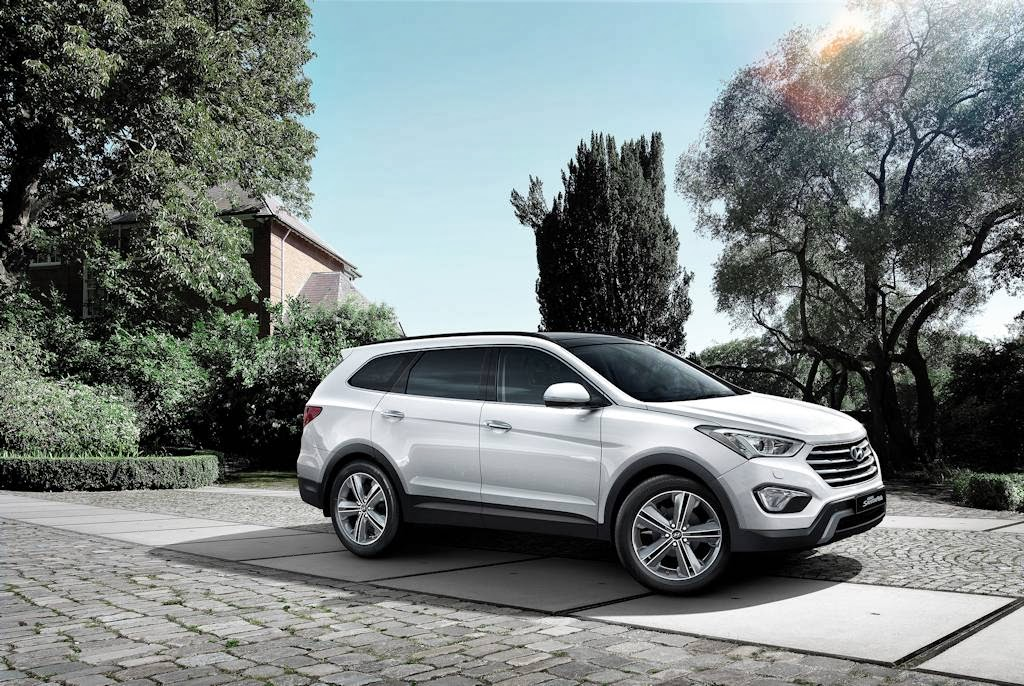 hyundai launches long wheelbase santa fe calls it grand w complete specs philippine car. Black Bedroom Furniture Sets. Home Design Ideas