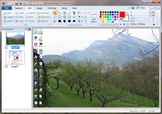 تحميل برنامج تصوير الشاشة لجهاز الكمبيوتر download HyperSnap 7.11.02