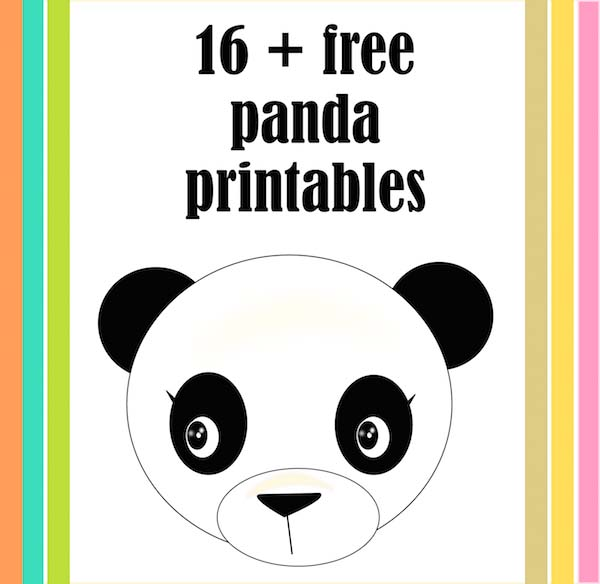 photo regarding Printable Panda Pictures called 21+ free of charge printable panda presents, playing cards and toys