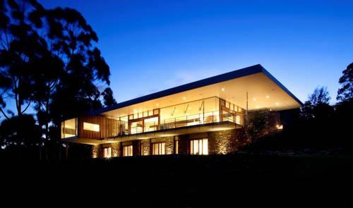 architecture Yallingup Residence exterior night