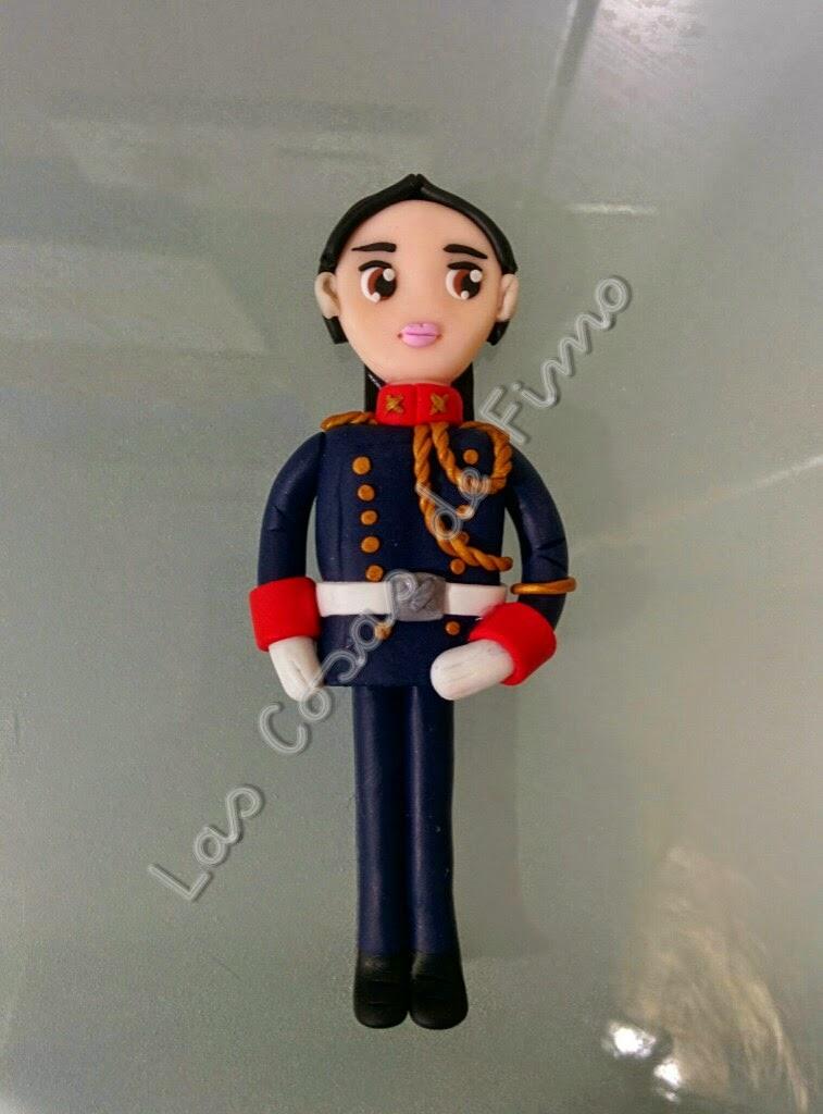 Imán Guardia Civil Gala Fimo