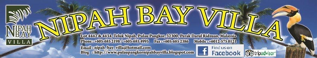 Nipah Bay Villa, Pulau Pangkor, Teluk Nipah, Malaysia