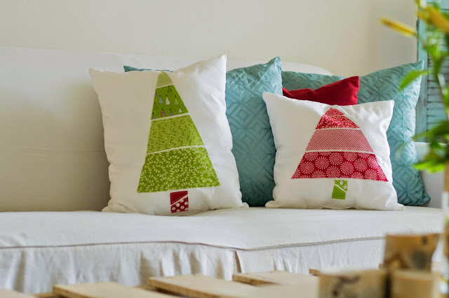 How to Make Decorative Christmas Tree Pillows!