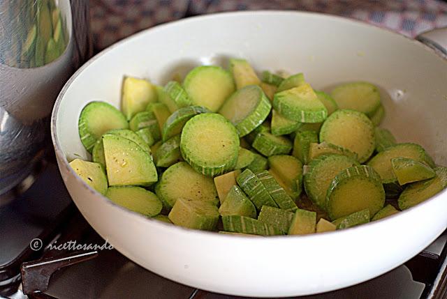 preparo le zucchine