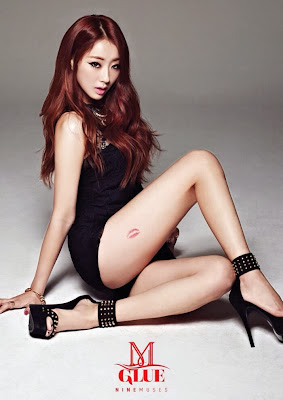 nine muses kyungri glue jacket