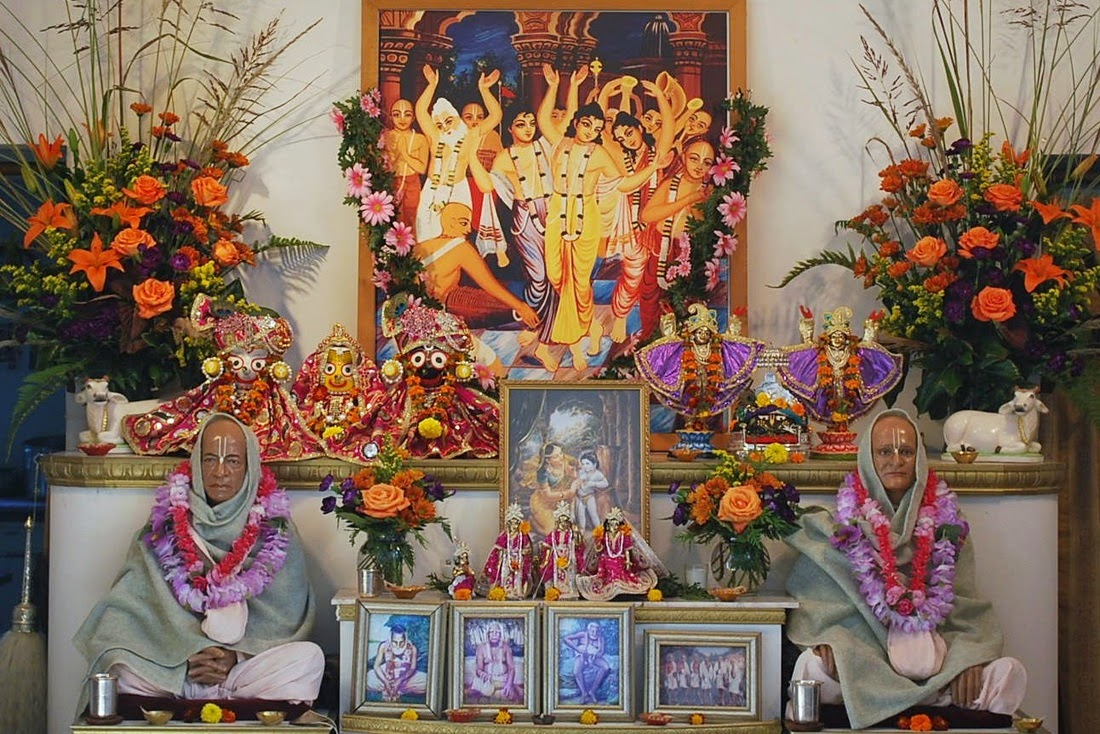ISKCON Temple Sandy Ridge (NC), USA