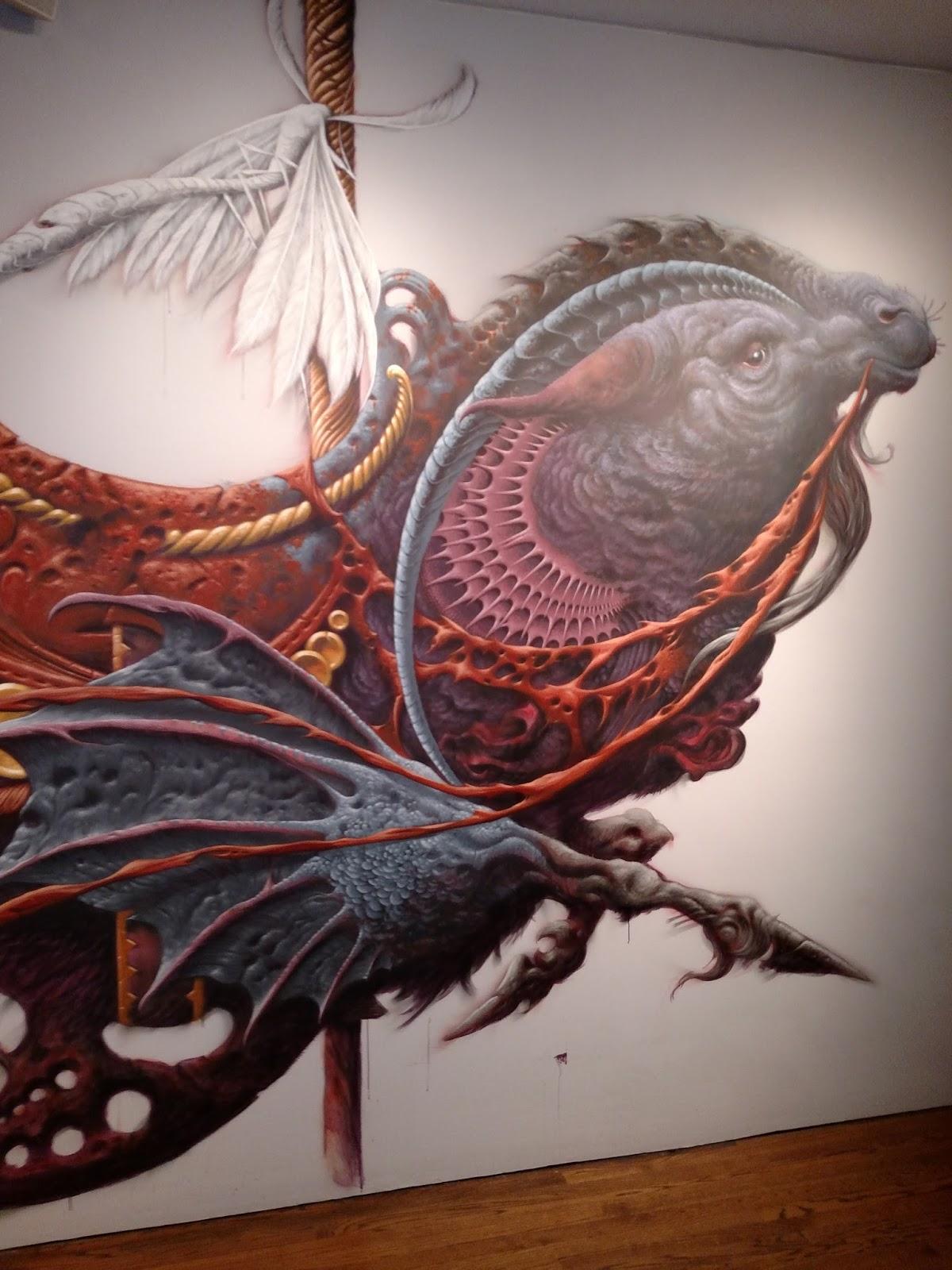 1200 x 1600 jpeg 262kB, Aaron Horkey Capricorn Blues Mural For Pow Wow ...