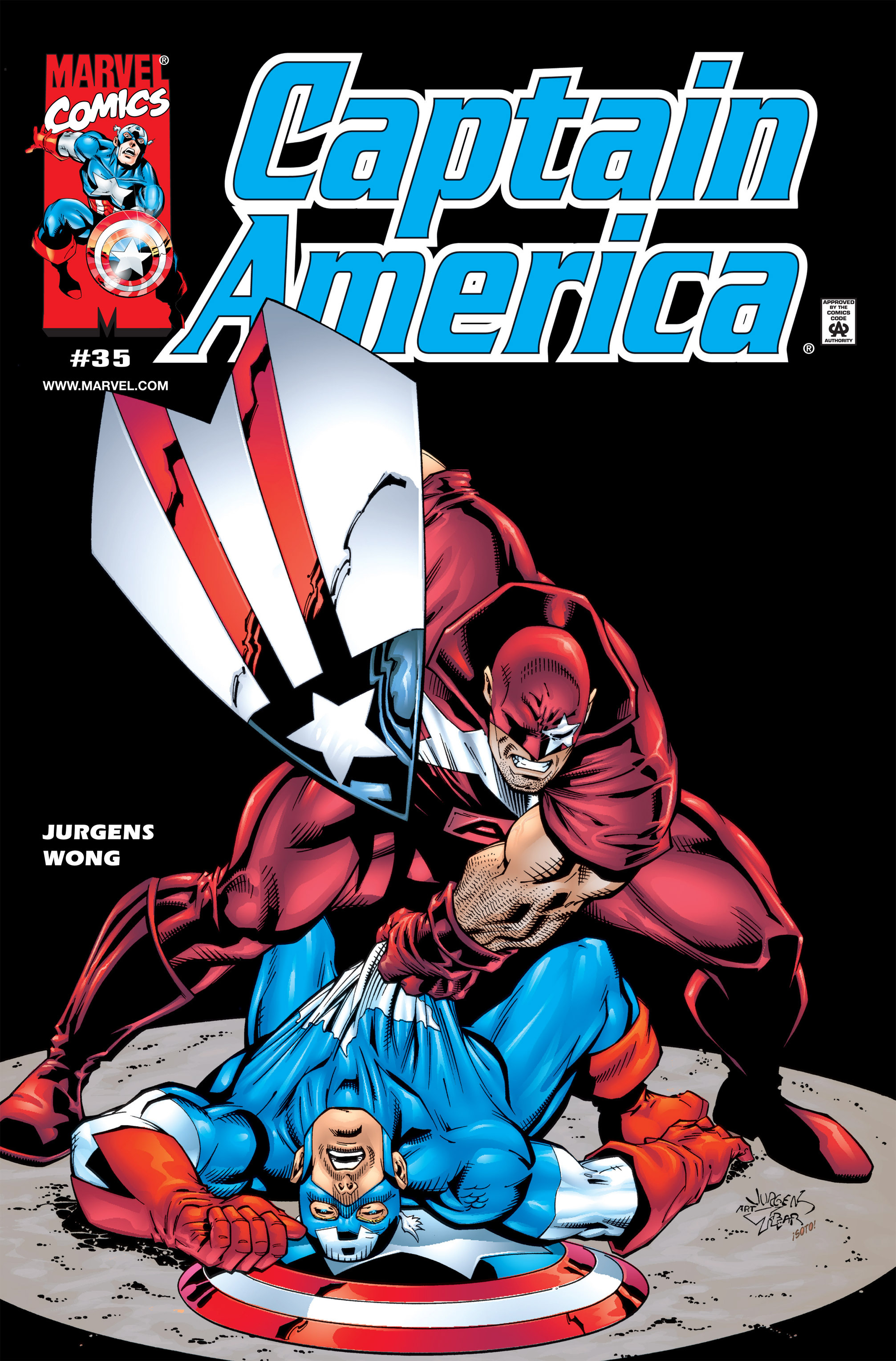 Captain America (1998) Issue #35 #41 - English 1