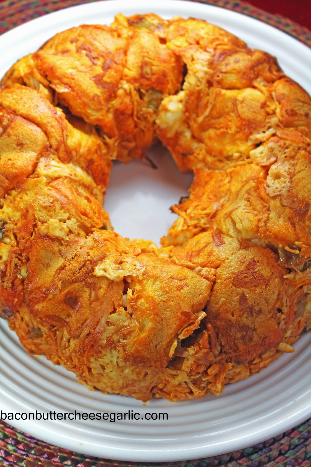 Buffalo Chicken Bread Ring
