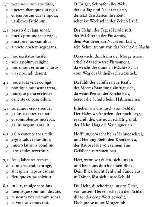lateinisch - deutsch