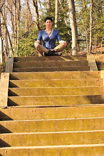 Meditation on the steps