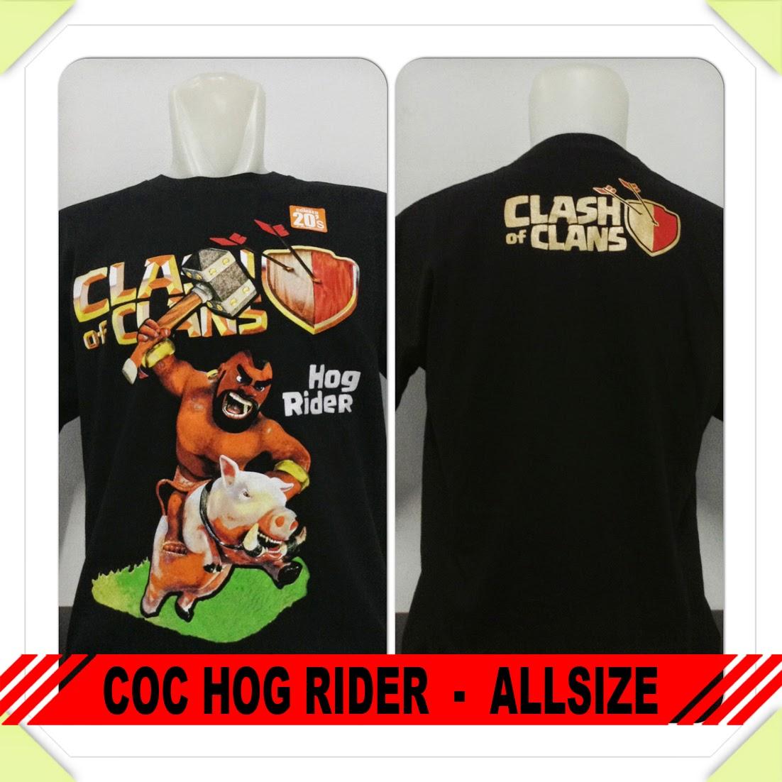 Baju COC Hog Rider
