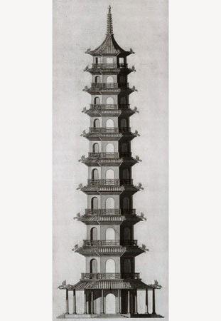Chambers pagoda Kew