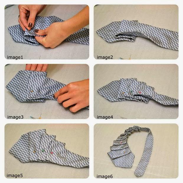 Como Fazer um Colar Usando uma Gravata