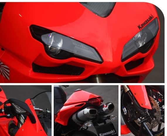 Warna khas Ducati merah pas banget jika dipadu merah yang menyala  title=