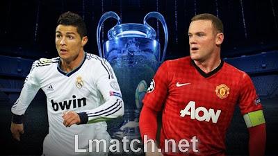 بث مباشر مباراة ريال مدريد مقابل مانشستر يونايتد - دوري أبطال أوروبا