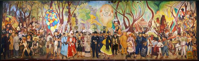 Sueño de una tarde dominical en la Alameda Central, Diego Rivera