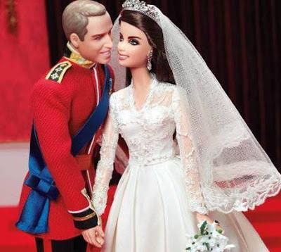 Gaun Pengantin Barbie