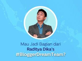Kompetisi Menjadi Blogger Impian Raditya Dika
