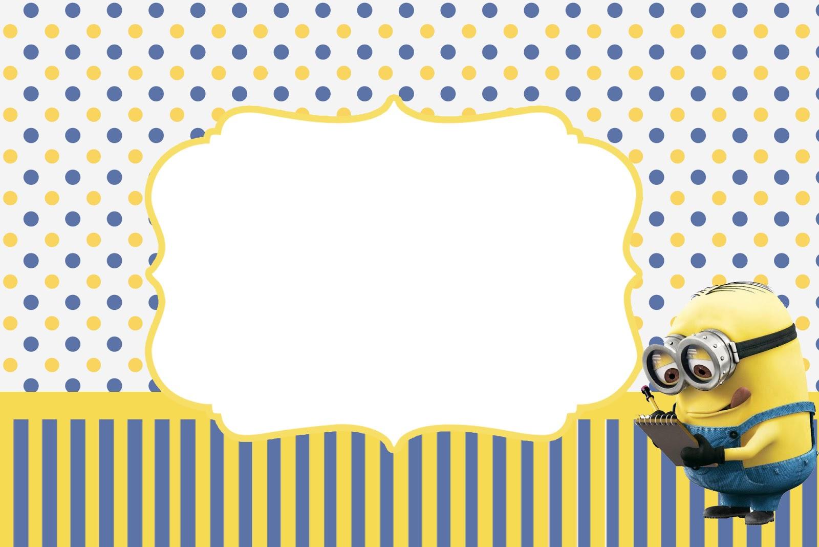Minions Birthday Invitation for great invitations design