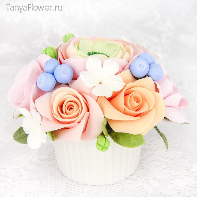 красивые цветы ручной работы на 8 марта