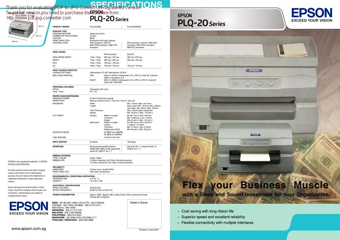 Alviscom Sales And Service Spesialis Printer Paper Tray Sandaran Kertas Epson Lx300 Ii Lx 300 Ori New Plq20