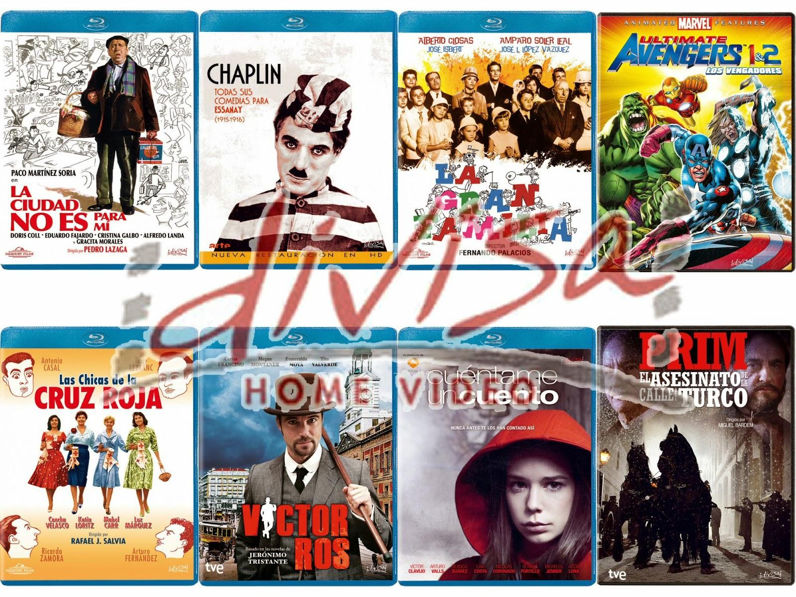 Lanzamientos de enero en DVD y Blu-ray de Divisa Home Video
