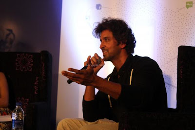 Hrithik Roshan at the launch of first look of Krrish 3 motion poster