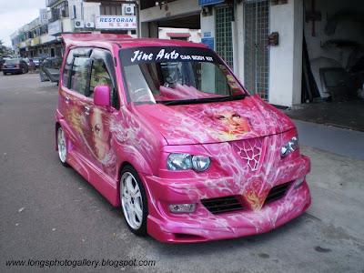 Kenari Autoshow Car