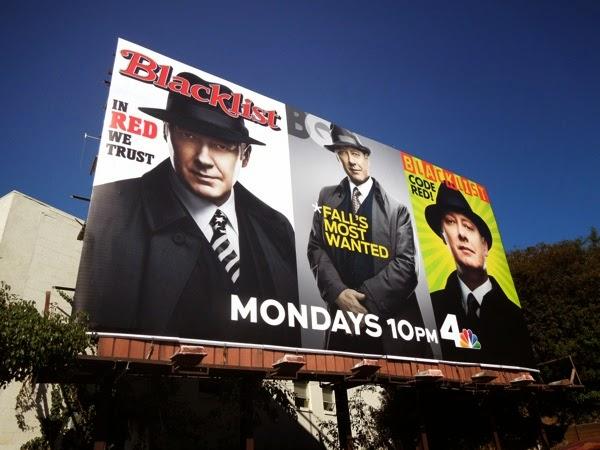 Blacklist season 2 magazine cover billboard