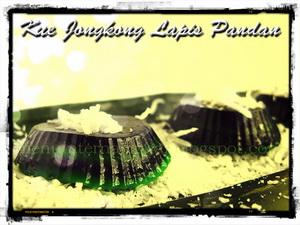 Kue Jongkong Lapis Pandan Bangka