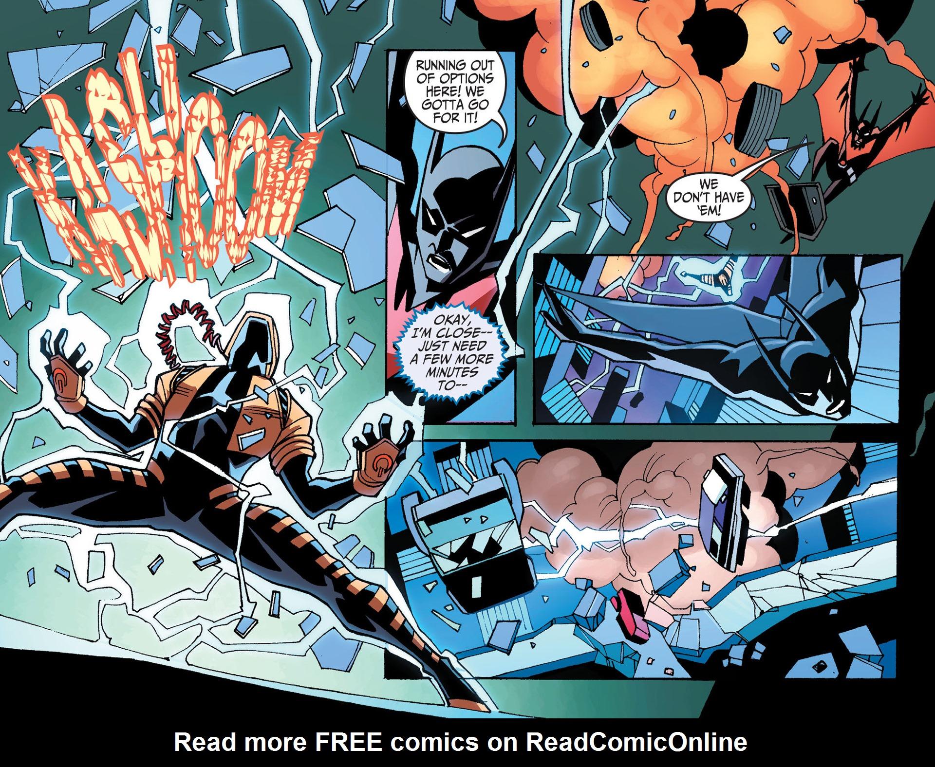 Batman Beyond 2.0 #8 #33 - English 9
