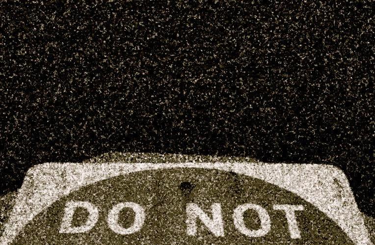 Do Not...