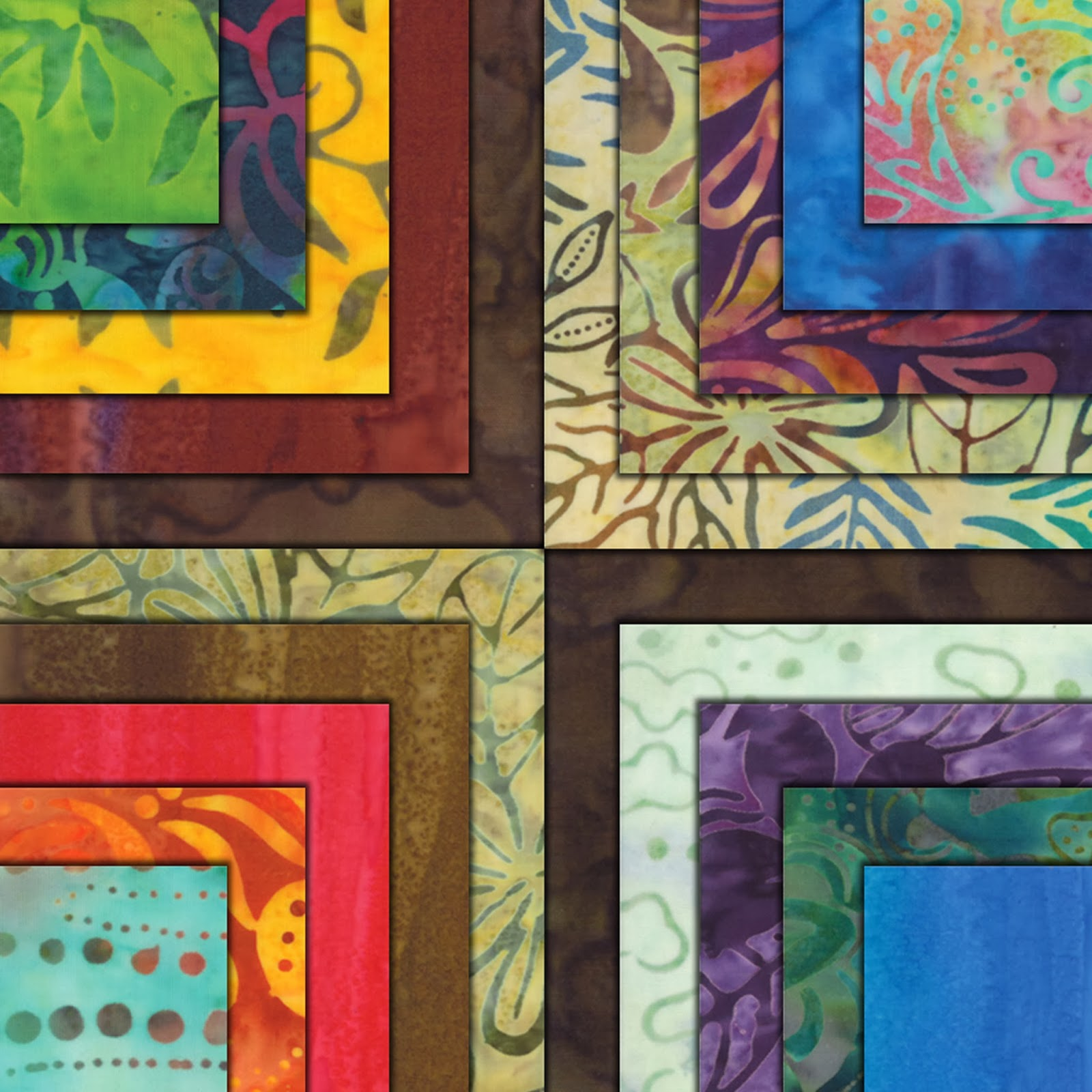 Moda COLOR CRUSH BATIKS Quilt Fabric by Moda Fabrics