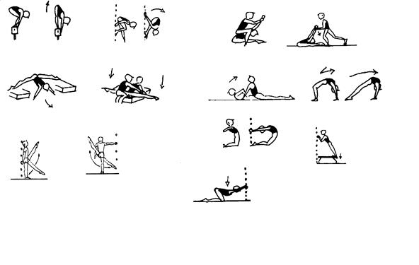 ejercicios para planificar gimnasia deportiva