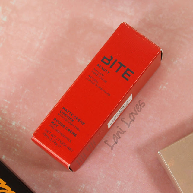 Bite Beauty Pastille Rosebud Matte Creme Lipstick swatches & review